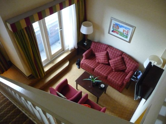 Manchester Marriott Victoria & Albert Hotel : Duplex Junior Suite