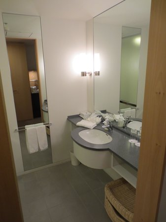 Hotel Nikko Niigata: 洗面台