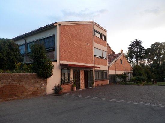 Hotel Casa Santa Rosa: Vista esterna