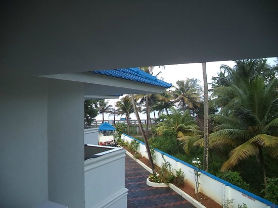 Blue Waters Cherai: View from room balcony