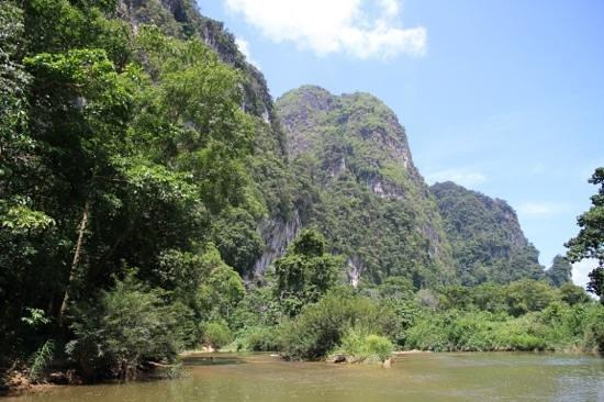 Green Andaman Travel: Bamboo rafting on the Klong Sok river