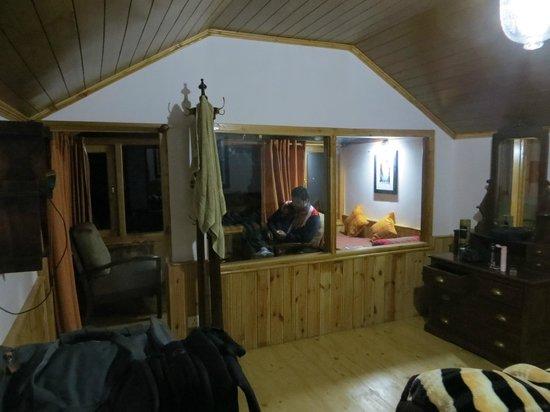 Banjara Camp &  Retreat - Sangla Valley Camp: River View Cottage Inside