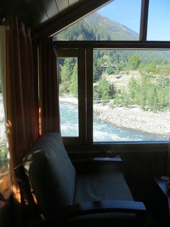 Banjara Camp &  Retreat - Sangla Valley Camp: Living Area... Great views in any weather!!