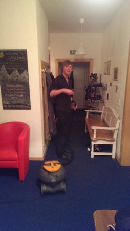 Chalet Tirolerhaus : Fred, chalet manager. A.k.a Hoover boy!!