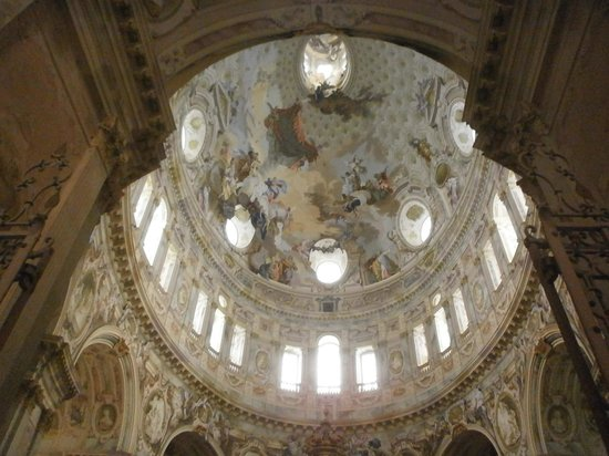 Santuario della Nativita di Maria: interno:la cupola