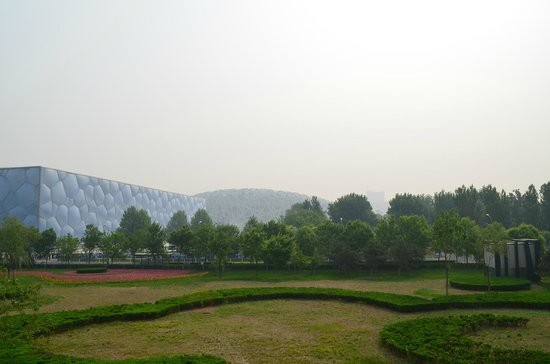 Regent Beijing : the stop we made to see the bird's nest olympic stadium