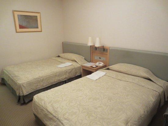 Hotel Okura Niigata: 禁煙DXツイン(デュベではない)