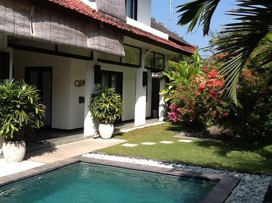 Villa Surga - downstairs bedroom.