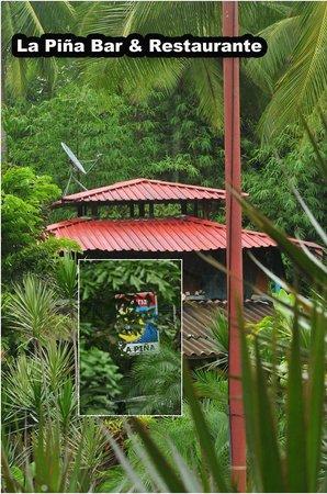 La Pina Lodge B&B: Host house in La Piña