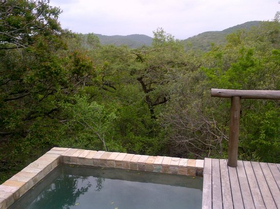 andBeyond Phinda Mountain Lodge: Privat splash pool