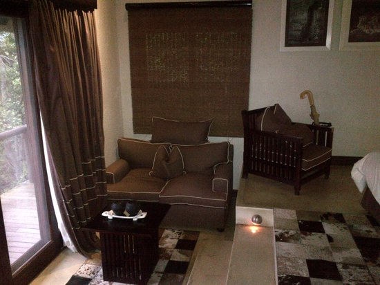 andBeyond Phinda Mountain Lodge : Place to relax and feel at home in your room