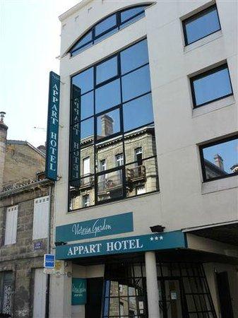 Appart'hôtel Victoria Garden Bordeaux: Résidence côté rue