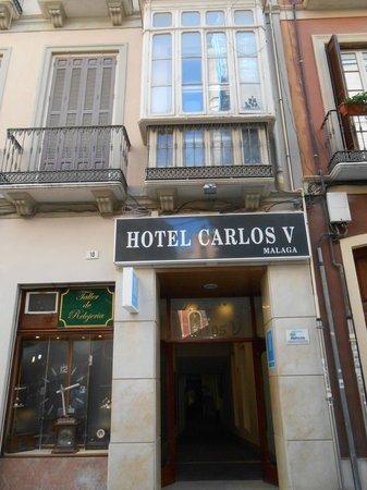 hotel carlos v de malaga: