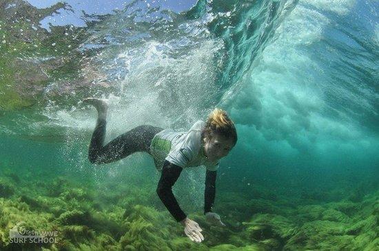 Green Wave Surf School: Gaëlle
