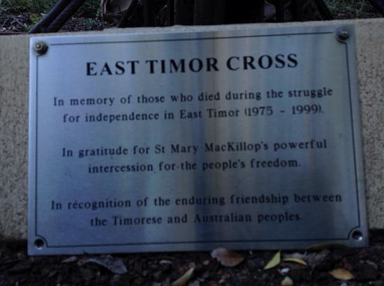Anderledy Lodge : Timor Remembered detail