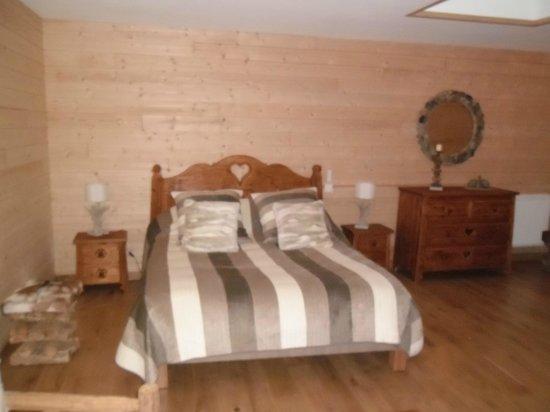 Les Belles Epoques - 5 Chambres d'Hôtes : chambre nature