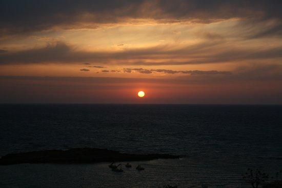 Capo Bay Hotel : Sonnenaufgang