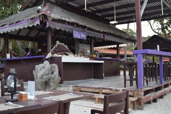 P.P. Erawan Palms Resort : the bar