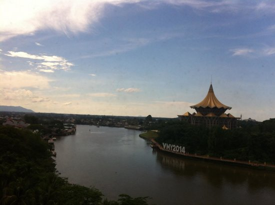 Hilton Kuching: View from our room