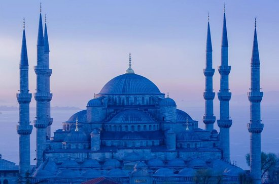 Rast Hotel: Blue Mosque from Terrace
