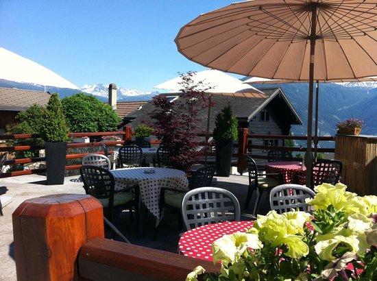 Cafe Cher-Mignon : La Terrasse