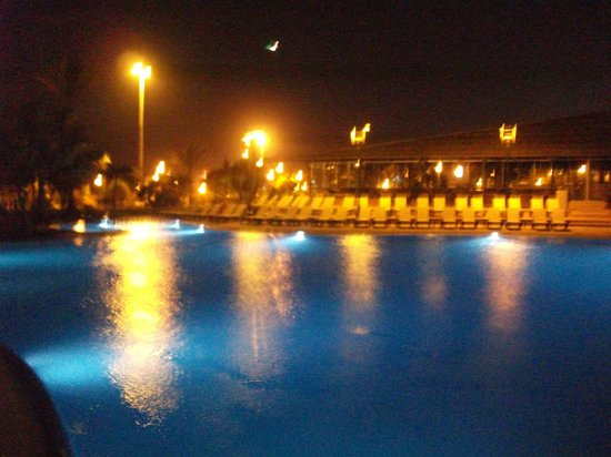 Barcelo Fuerteventura Thalasso Spa : Evening lights