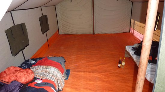 Gati, Nepal: Tent accomodation