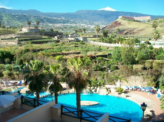 diverhotel Tenerife Spa & Garden: la vue de notre chambre au réveil!