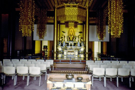 Zojoji Temple: altare