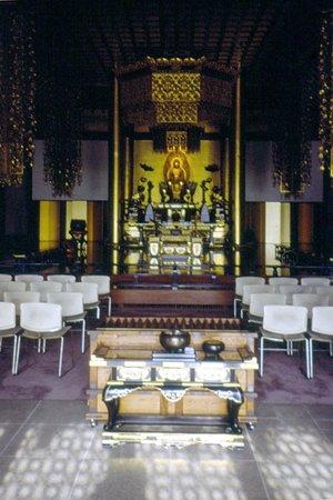Zojoji Temple: interno
