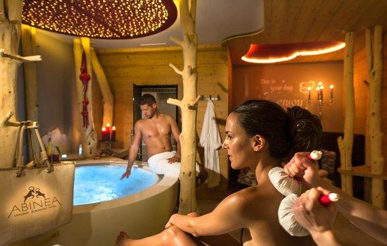 ABINEA Dolomiti Romantic SPA Hotel: Privat SPA