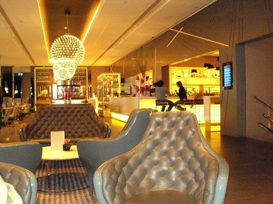 Pullman London St Pancras Hotel : salle du petit déjeuné au R.D.C