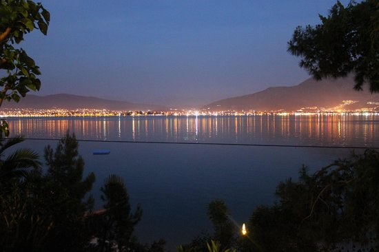Letoonia Club & Hotel: Lights over bay from Agora Square