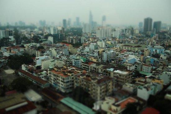 Hotel Nikko Saigon: 部屋からの眺め