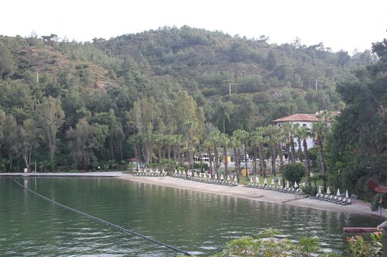 Letoonia Club & Hotel: View of the Beach