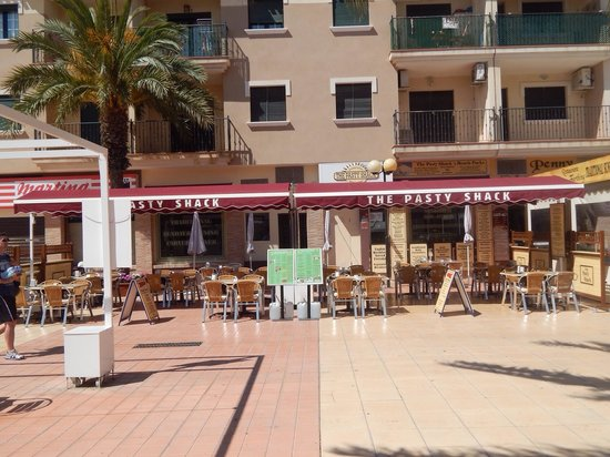 Pasty Shack : New extended terrace