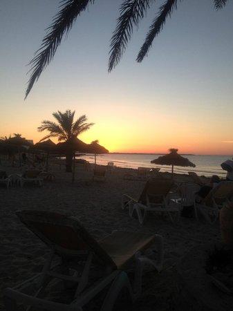 Club Marmara Dahlia: Coucher de soleil vu de la plage