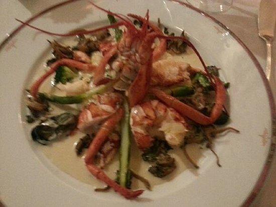 Le Fin Gourmet: homard & sa bisque aux champignons