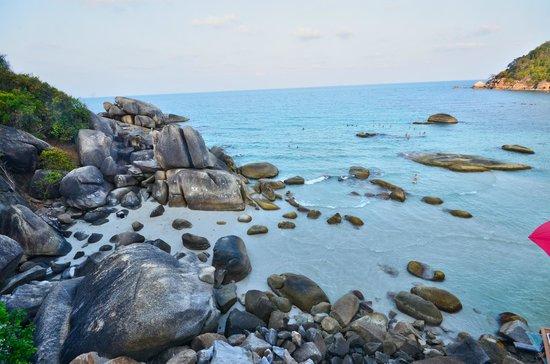 Silver Beach : vue plage