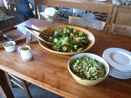 Clare Island Yoga Retreat Centre: Lovely vegetarian food