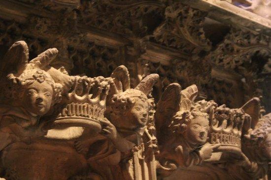 Basilica de Sant Francesc: Interessante Details
