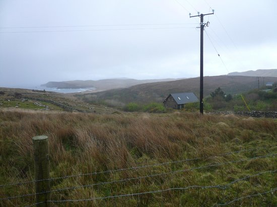 Clare Island Yoga Retreat Centre: View from the road