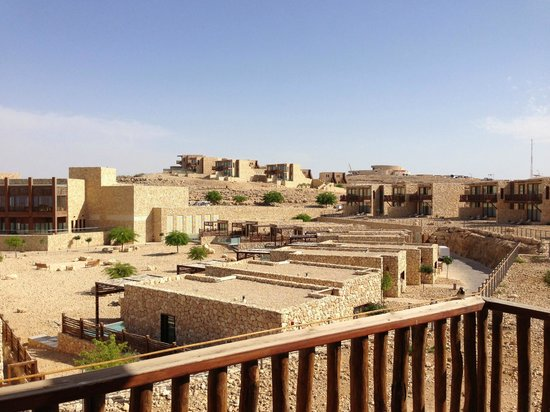 Beresheet Hotel by Isrotel Exclusive Collection: The view from a simple balcony desert view room