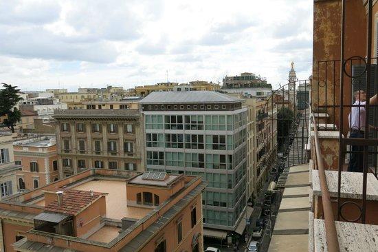 Hotel San Marco: Blick vom Balkon