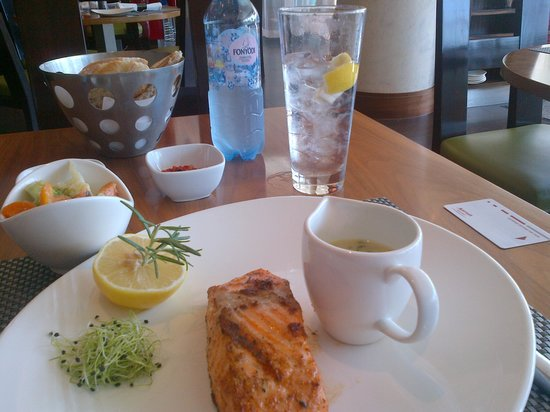 Budapest Marriott Hotel : Please try this salmon. I think it's the best I've ever heard.
