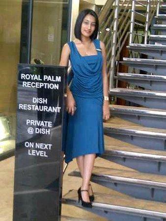 aha Royal Palm Hotel: Merisha our Accounts Manager