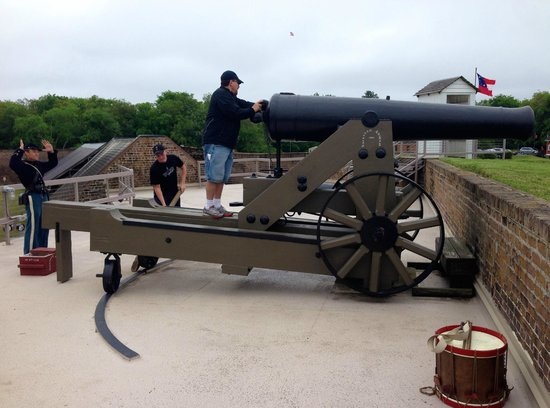 Old Fort Jackson: Lessons