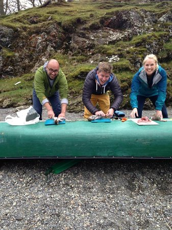 Keswick Canoe and Bushcraft: Preparing squirrel and trout