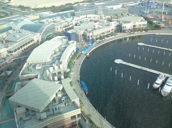 InterContinental Dubai Festival City: View from room