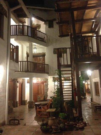 Hotel Killa Cafayate : The courtyard